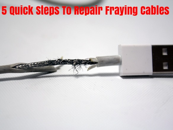 5 Quick Steps To Repair Fraying Cables