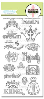 http://www.sweetnsassystamps.com/creative-worship-child-of-the-king-clear-stamp-set/