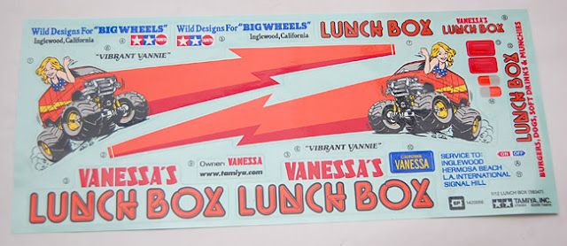 Tamiya Lunchbox decals