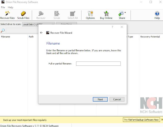 Cara kembalikan file yang terhapus pada Recycle Bin Windows