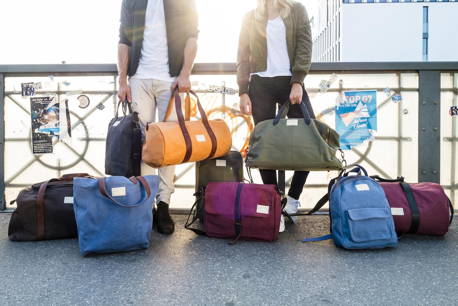 585bab698c88 SOUVE BAG COMPANY - Easy Traveller mit Stil