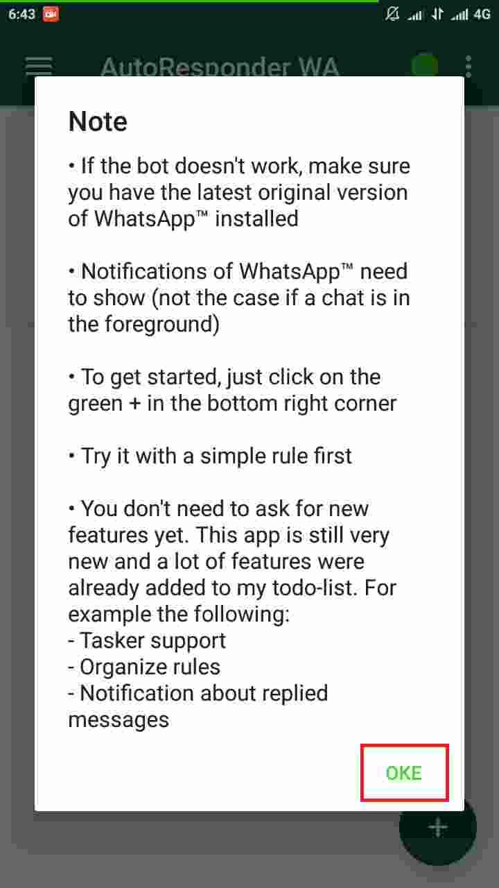 Cara membuat pesan auto reply WhatsApp tanpa root 2