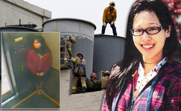 Elisa Lam fue hallada en la azotea