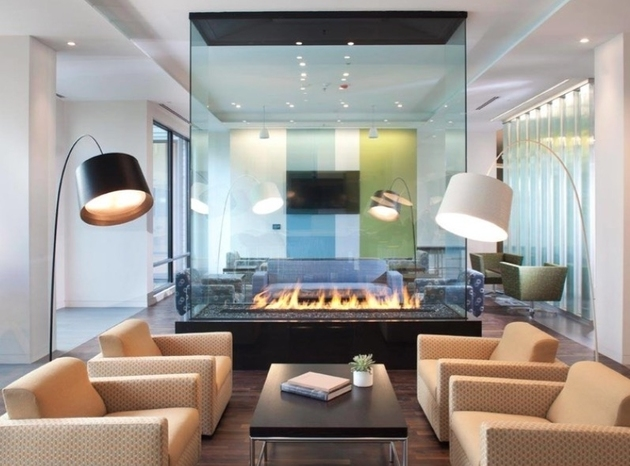 Innovative And Efficient Living Room Layout With A ...