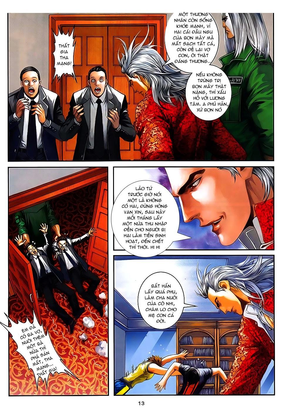 Quyền Đạo chapter 8 trang 13