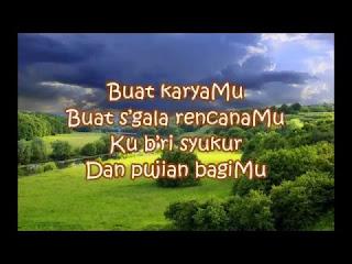 Lirik dan Kunci Gitar B'ri Syukur, B'ri Puji