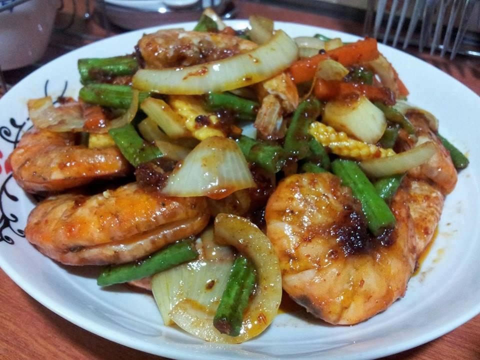 resepi udang galah butter resep masakan khas Resepi Udang Galah Azie Kitchen Enak dan Mudah