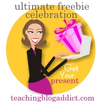 Teaching Blog Addict - Ultimate Freebie