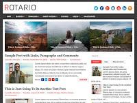 Rotario Blogger Template