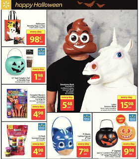 Walmart Halloween Emoticon Mask Sale Price $5.48