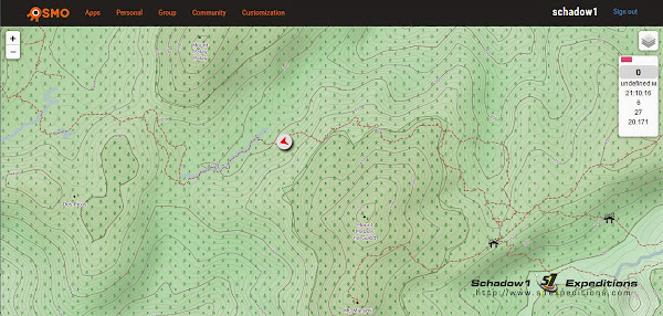 Osmo Tracker Browser View - Schadow1 Expeditions