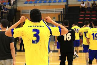 El Club Balonmano Barakaldo cae ante el Uharte