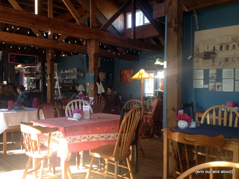 {Erin Out and About} The Boathouse Tea Room