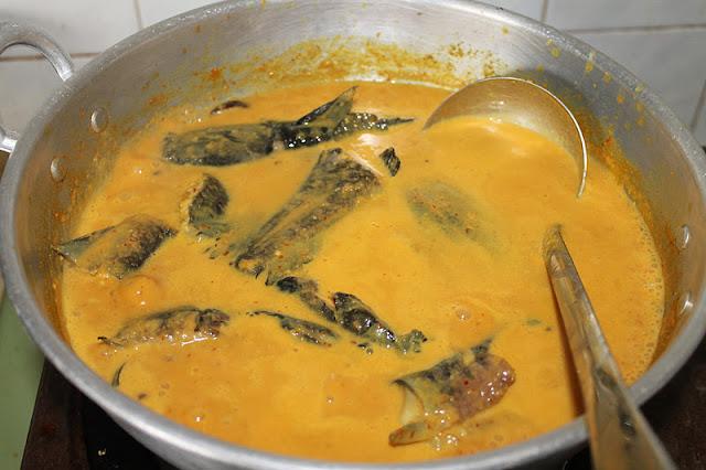 Gulai Lemak Ikan Keli Lembut