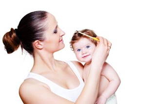 tips merawat rambut bayi