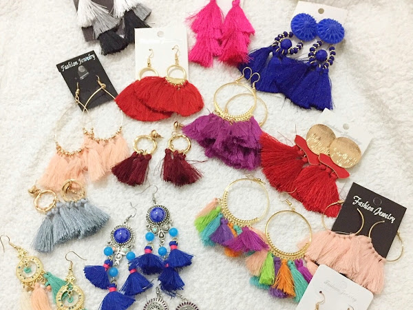 Giveaway - tassel earrings (International)