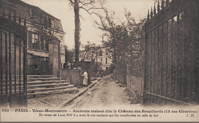 Paris l 39 all e des brouillards et son ch teau petite - Bureau de change rue montmartre ...