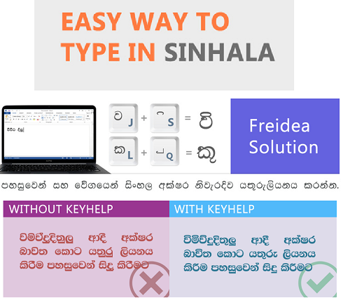 Easy Way To Type In Sinhala ~ tricks and tip 4u