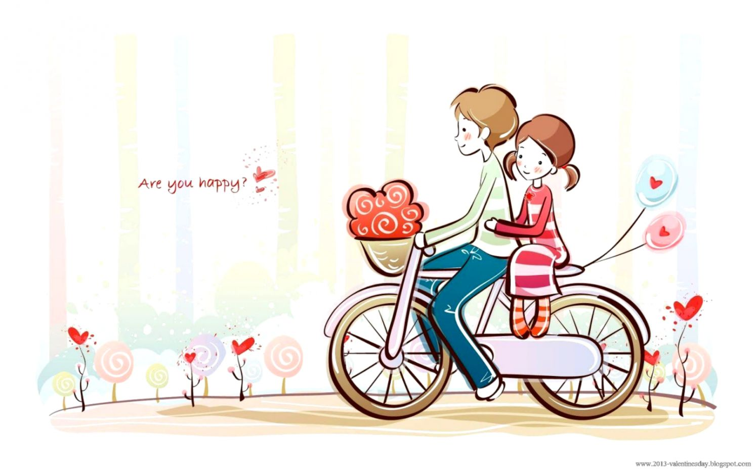 Cute Couple Cartoons Wallpapers Wallpapers Minimalist