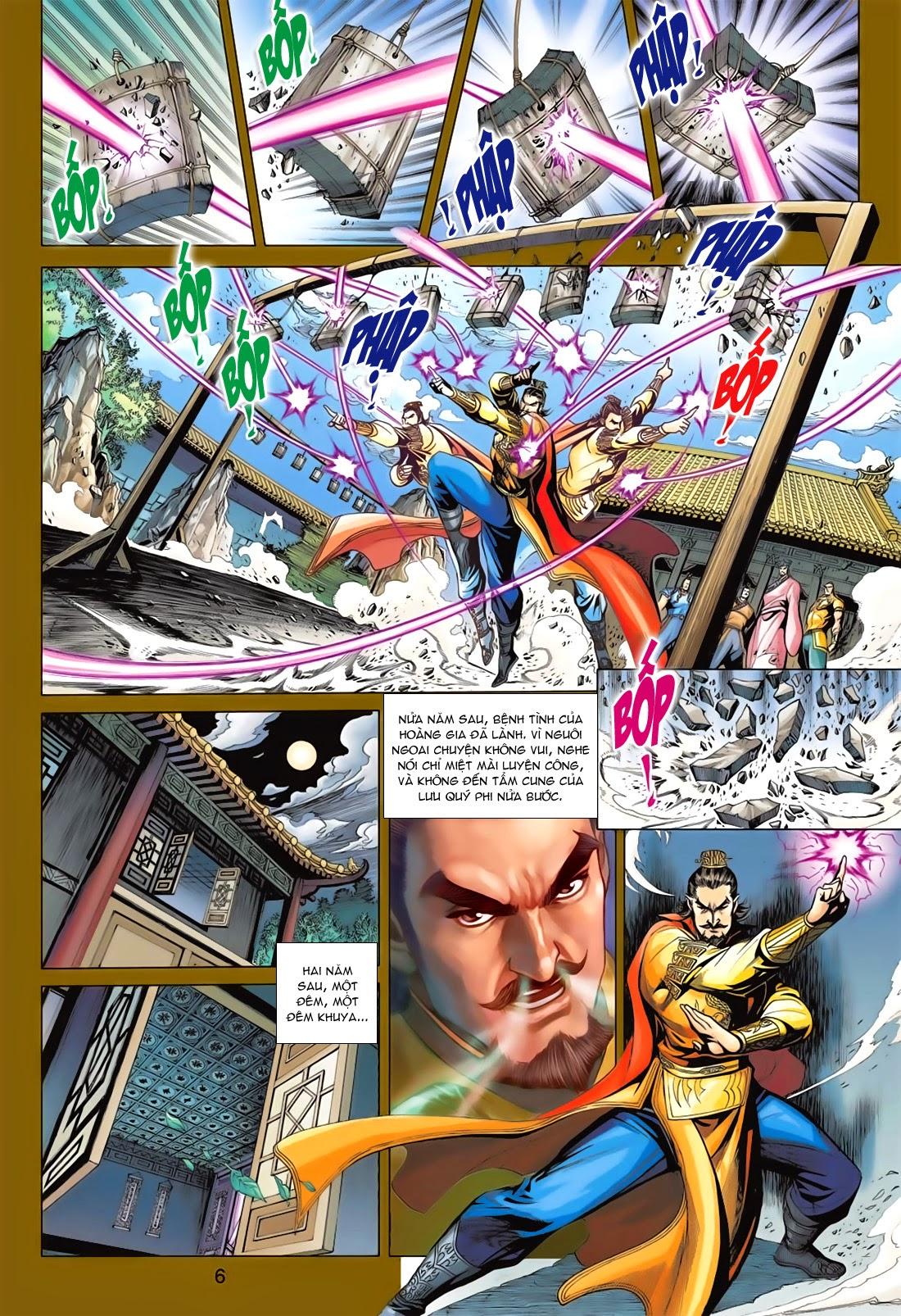 Anh Hùng Xạ Điêu anh hùng xạ đêu chap 78: sát anh trang 6