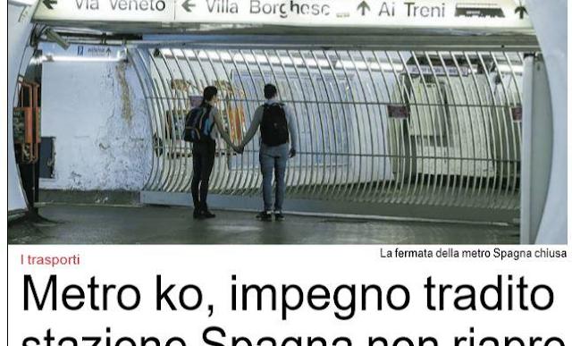 Situazione Trasporto Pubblico Roma venerdì 19 aprile