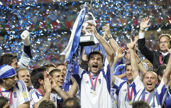 Yunani Juara EURO 2004