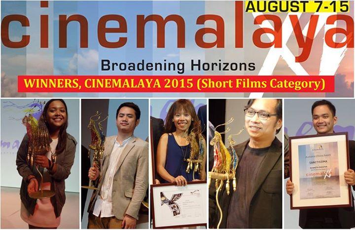 My E-net: Winners of Cinemalaya 2015 (shorts)