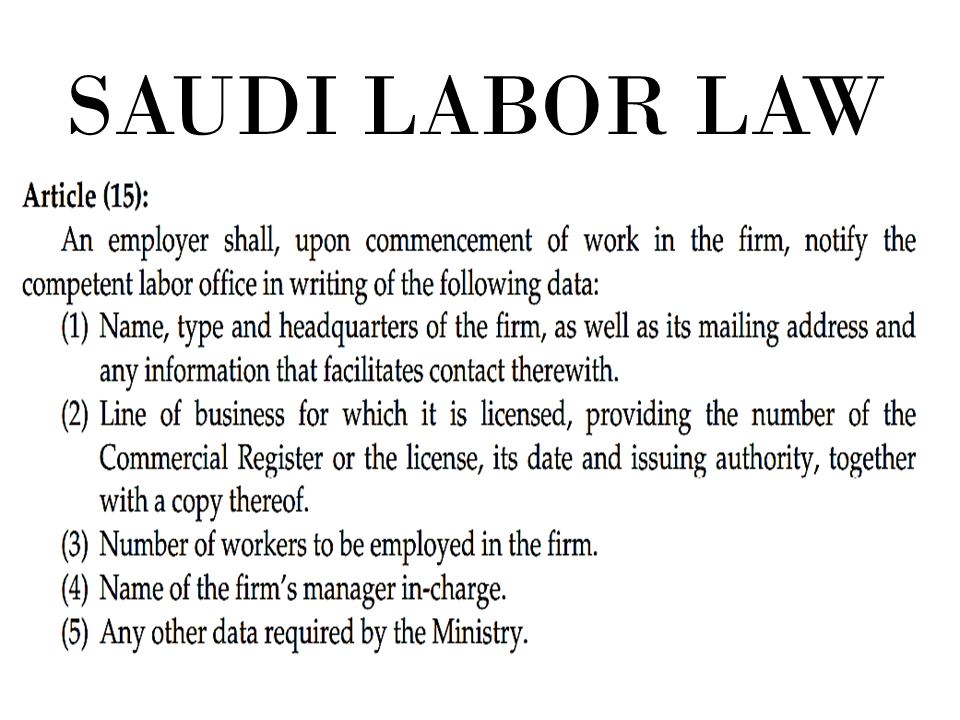 A new revision on the table approved by Minister of Labor and Social Development Ali Al-Ghafees in view of the changes and developments in the labor market has set penalties for employers who will violate the rights of expat employees as stated in the Saudi Labor Law.  Several fine schedules has been set for employers such as follows:  —SR10,000 will be given to employers if they violate Labor Law provision with regard to the prescribed holidays of their employees.   —For employers who violate the revised Article 38 of the Labor Law by allowing a non-Saudi employee to work in a profession other than the one specified in his work permit a SR10,000 fine will be imposed.  —The same amount of fine (SR10,000) will be imposed if Article 15 is violated by not opening a file of the firm in the Labor Office or not updating the data of the firm at the office.    Sponsored Links  —Employers that keep employee's passport, iqama (residency permit) or medical insurance card without his consent will be fined SR2,000.  A fine of  SR10,000 will be given to employers for not having organizational regulations or not complying with them.  Likewise, failure to submit the Wage Protection file to the Labor Office every month will result in SR10,000 fine.  SR15,000 fine will be given if the firm fails to meet the requirements of health and occupational safety of its staff.  Settlement of fine has to be made within one month after the issuance of penalty, failure to comply will result in making the fine double.  Employers who will commit the same violation will have to settle double the amount of the designated fine. A new revision on the table approved by Minister of Labor and Social Development Ali Al-Ghafees in view of the changes and developments in the labor market has set penalties for employers who will violate the rights of expat employees as stated in the Saudi Labor Law.  Several fine schedules has been set for employers such as follows:  —SR10,000 will be given to employers if they violate Labor Law provision with regard to the prescribed holidays of their employees.   —For employers who violate the revised Article 38 of the Labor Law by allowing a non-Saudi employee to work in a profession other than the one specified in his work permit a SR10,000 fine will be imposed.  —The same amount of fine (SR10,000) will be imposed if Article 15 is violated by not opening a file of the firm in the Labor Office or not updating the data of the firm at the office. Sponsored Links  —Employers that keep employee's passport, iqama (residency permit) or medical insurance card without his consent will be fined SR2,000.  A fine of  SR10,000 will be given to employers for not having organizational regulations or not complying with them.  Likewise, failure to submit the Wage Protection file to the Labor Office every month will result in SR10,000 fine.  SR15,000 fine will be given if the firm fails to meet the requirements of health and occupational safety of its staff.  Settlement of fine has to be made within one month after the issuance of penalty, failure to comply will result in making the fine double.  Employers who will commit the same violation will have to settle double the amount of the designated fine.     Advertisements    Read More:  Senate Approves Bill For Free OFW Handbook  Overseas Filipinos In Qatar Losing Jobs Amid Diplomatic Crisis—DOLE   How To Get Philippine International Driving Permit (PIDP)    DFA To Temporarily Suspend One-Day Processing For Authentication Of Documents (Red Ribbon)    SSS Monthly Pension Calculator Based On Monthly Donation    What You Need to Know For A Successful Housing Loan Application    What is Certificate of Good Conduct Which is Required By Employers In the UAE and HOW To Get It?    OWWA Programs And Benefits, Other Concerns Explained By DA Arnel Ignacio And Admin Hans Cacdac   ©2018 THOUGHTSKOTO  www.jbsolis.com   SEARCH JBSOLIS, TYPE KEYWORDS and TITLE OF ARTICLE at the box below    Advertisements    Read More:  Senate Approves Bill For Free OFW Handbook  Overseas Filipinos In Qatar Losing Jobs Amid Diplomatic Crisis—DOLE   How To Get Philippine International Driving Permit (PIDP)    DFA To Temporarily Suspend One-Day Processing For Authentication Of Documents (Red Ribbon)    SSS Monthly Pension Calculator Based On Monthly Donation    What You Need to Know For A Successful Housing Loan Application    What is Certificate of Good Conduct Which is Required By Employers In the UAE and HOW To Get It?    OWWA Programs And Benefits, Other Concerns Explained By DA Arnel Ignacio And Admin Hans Cacdac