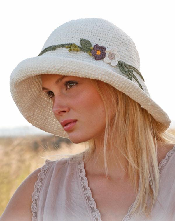 Шляпка женская летняя своими руками