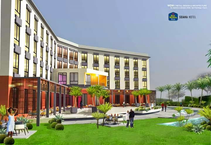 Images Of A Hotel Project Franchise The Best Western Hotels To Be Launched In 2017 By Douala Airport Commissioned Cameroon Businessman