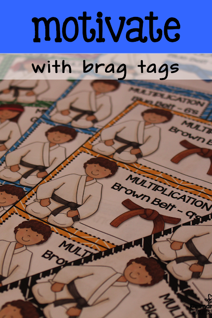 These multiplication assessments may be used for Pre-Assessments, Post Assessments, and speed practice. Research shows that timed tests actually increase math fact fluency. There are 10 Karate belt levels of Brag Tags for recognition when students master a level.  There are 10 Karate belt levels of Brag Tags for recognition when students master a level.  Since we know all students do not learn at the same rate, I suggest differentiating the use of this tool. Use the Teacher Data Record to track each student and quickly differentiate the assessments by giving each student the strategy they are still working on.