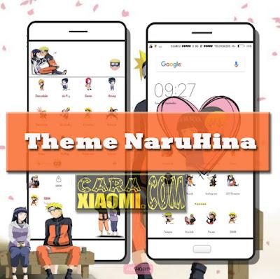 Themes MIUI Naruhina(Naruto Hinata) Mtz For Xiaomi