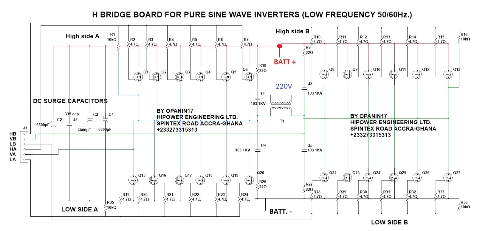 hight resolution of h bridge circuit for inverters