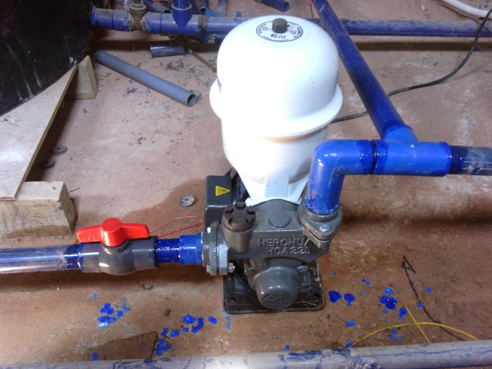 Memasang Set Motor Pam Air Di Rumah