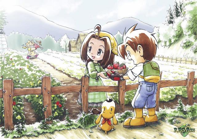 Cara Mendapatkan Kucing dan Bebek Harvest Moon A Wonderful Life