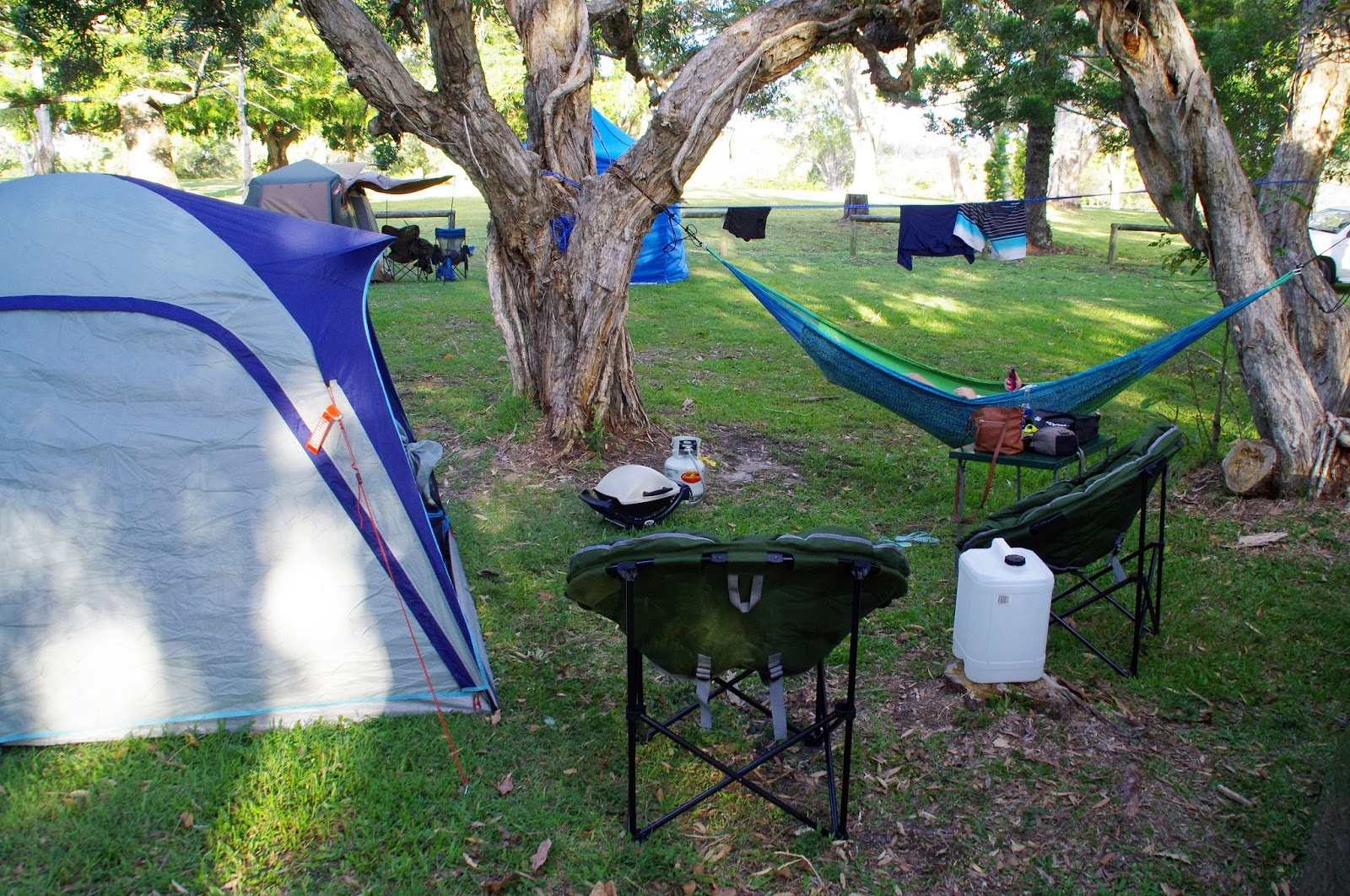 Camping with West Coast Hammocks
