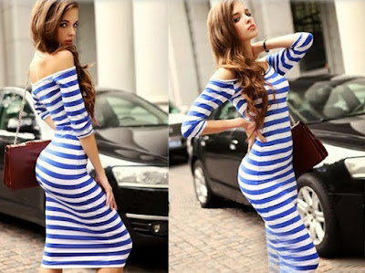 http://www.dresslink.com/ladies-half-sleeve-strapless-stripe-bodycon-stretch-party-pencil-dress-p-11381.html