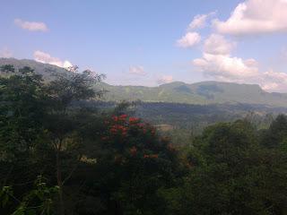 View di Bukit Asmara Sidemen Karangasem Bali