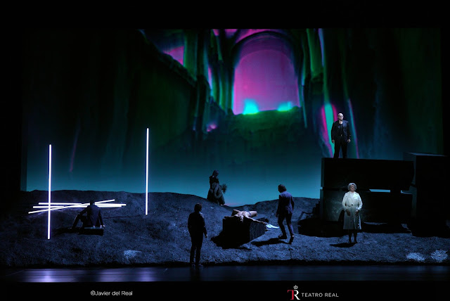 Ginastera: Bomarzo - German Olvera, John Daszak, Hilary Summers - Teatro Real, Madrid (Photo Teatro Real)