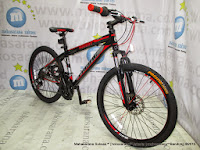 24 Inch Pacific Invert 21 Speed Junior Mountain Bike