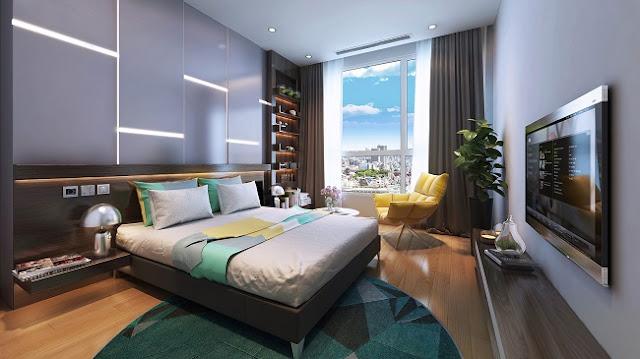 Căn hộ 1 phòng ngủ Vinhomes Phạm Hùng