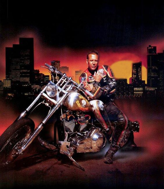 Mickey Rourke - Harley Davidson and the Marlboro Man (1991)