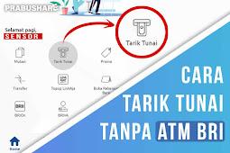 CARA TARIK TUNAI TANPA KARTU ATM BANK BRI (Aplikasi BRI Mobile terbaru)