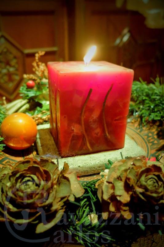 Tangografias Las Tradicion De Encender Velas En La Navidad - Velas-de-navidad