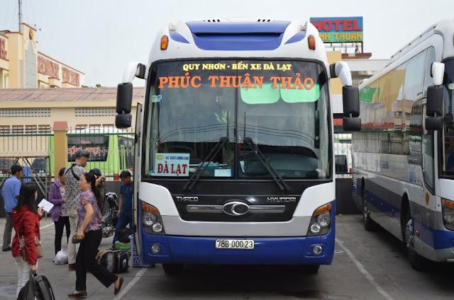 Xe khách chất lượng cao tại Phú Yên - Phúc Thuận Thảo