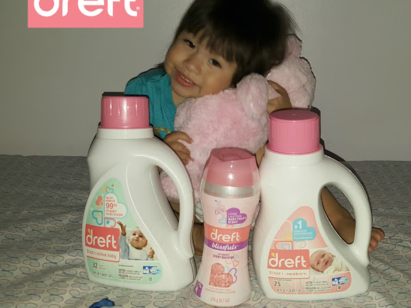 Safe & Hypoallergenic Spring with Dreft and a Giveaway