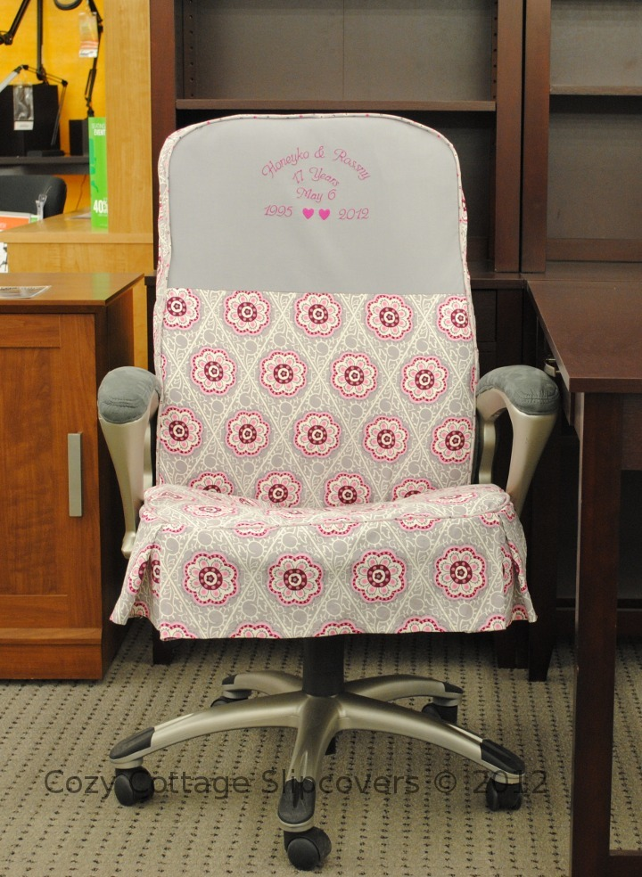 Cozy Cottage Slipcovers Anniversary Office Chair Slipcover