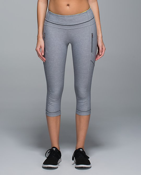 lululemon slate passion crop