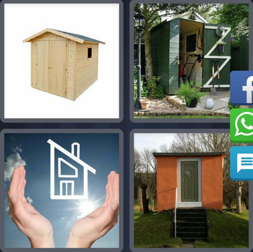 4 fotos 1 palabra casa manos enigma diario navidad 6 - Casa letras madera ...