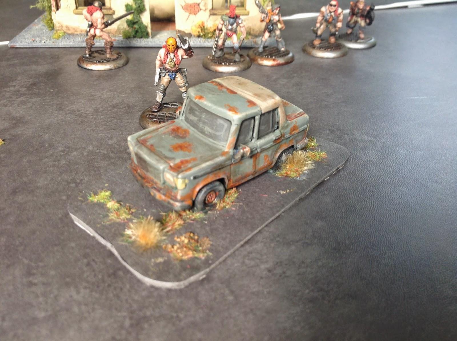 Four Colour Super Minis: AtDE: Wrecked Cars for Across The
